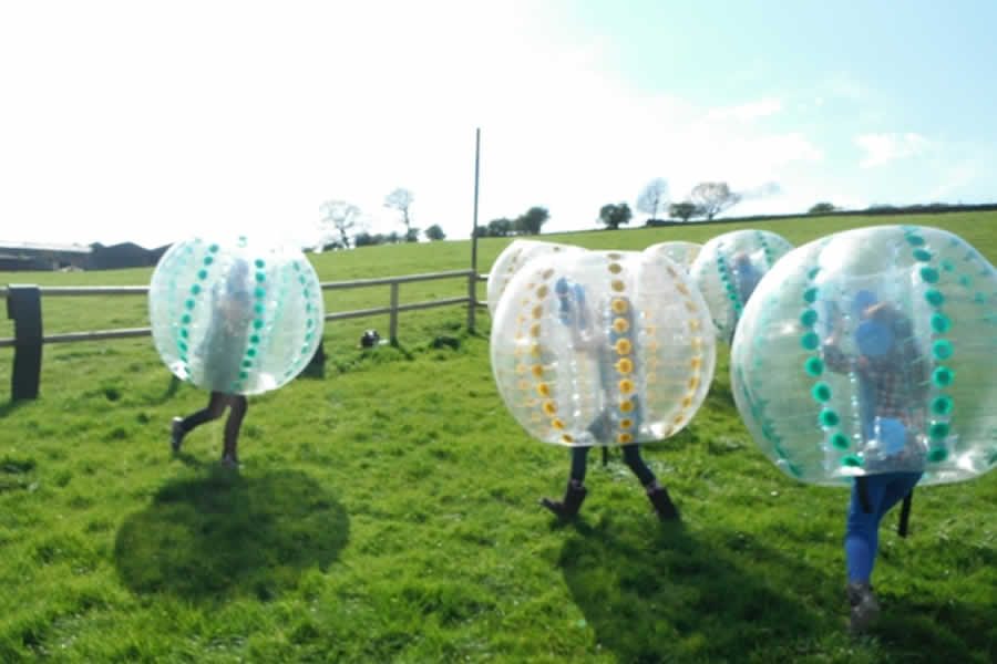 LFT Body Zorbing, Bubble Football - Harrogate - image 0