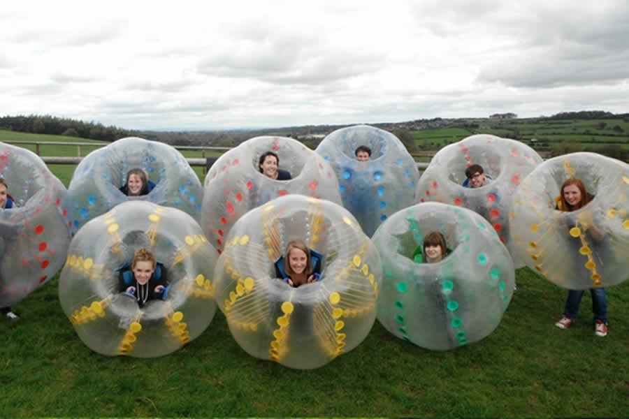 LFT Body Zorbing, Bubble Football - Harrogate - image 1