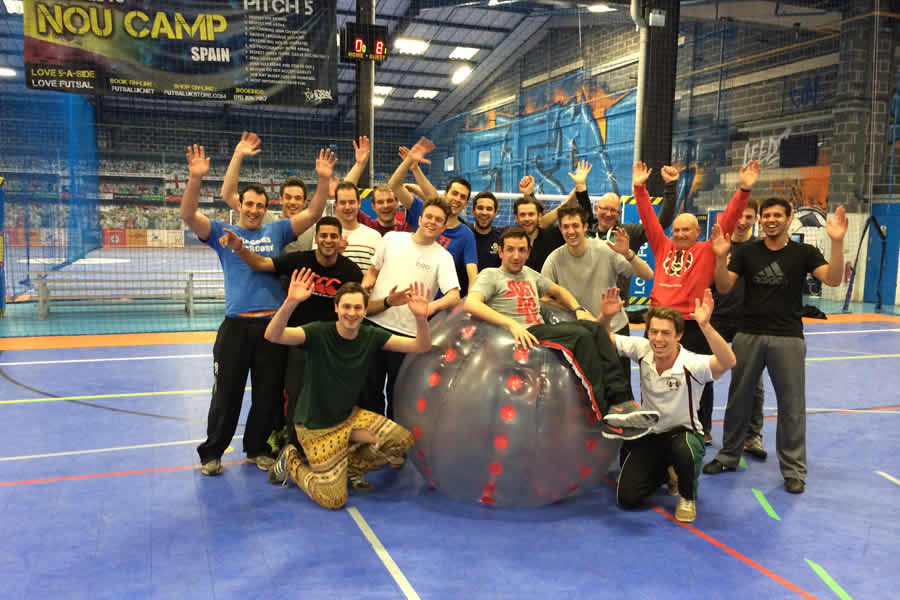LFT Indoor Bubble Football - Oldham - image 0